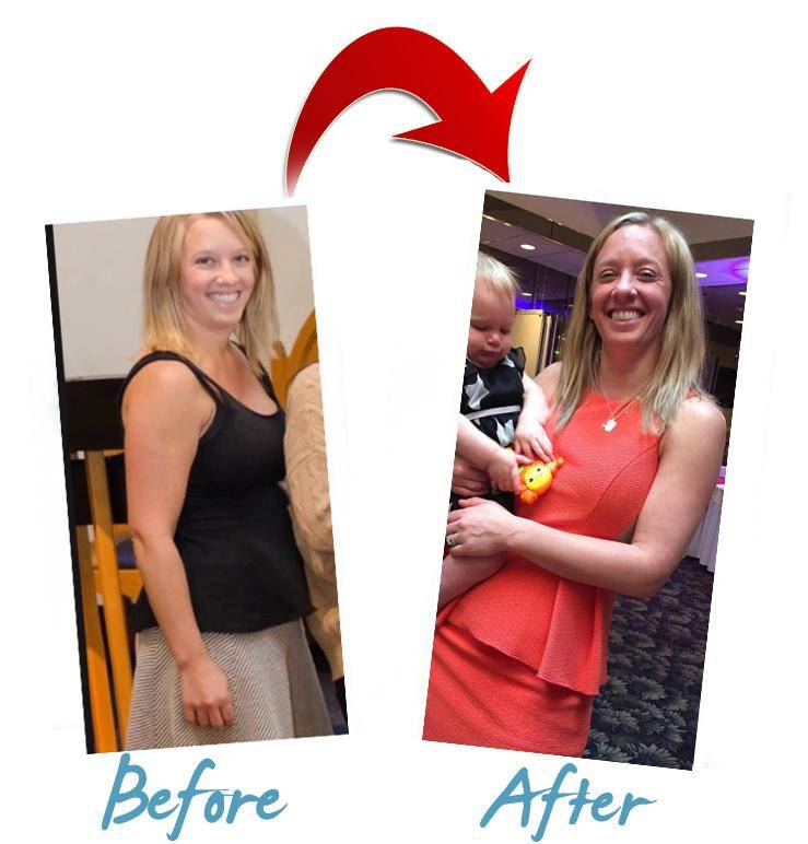 Weight Loss Transformation in CT