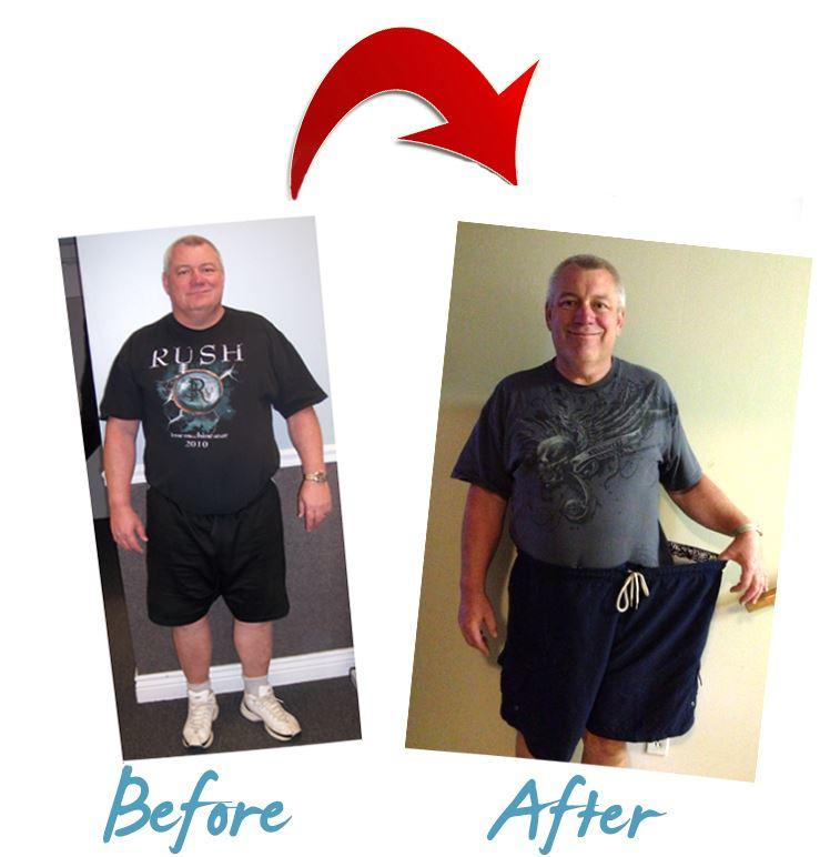 Personal Training Weight Loss Transformation in Connecticut